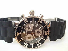 Chaumet Class one GM** Chronograph, Quartz- Rubber Strap**LIKE NEW*RARE 2000's*