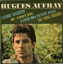 HUGUES AUFRAY L'HOMME ORCHESTRE FRENCH ORIG EP DYLAN BEATLES