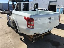 MITSUBISHI MQ WHITE TRITON MY16 NEW SHAPE TRITON UTE BODY UTE TUB READY TO GO