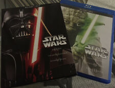 Star Wars Saga Complete 1-6 DVD Set Episodes I,II,III,IV,V,VI (NO Blu-ray Discs)