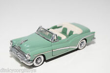 FRANKLIN MINT BUICK SKYLARK CONVERTIBLE CABRIOLET 1953 GREEN MINT CONDITION
