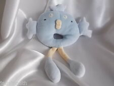 Doudou hochet oiseau bleu, Sucre d'Orge