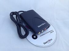 USB Audio Video Adapter TV VCR VHS Camcorder to CD DVD for WIN 2000 and XP only