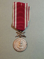 Czechoslovakia Order of Charles IV World War I WWII Military Czech Medal Army