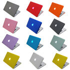 """MAC Crystal Hard Sleeve Case Cover bag For 13"""" 13.3"""" White Unibody Macbook A1342"""