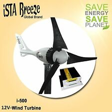 Set 12v 500w viento generador + regulador de carga, Black Edition viento turbina ista-Breeze ®