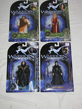 Warriors of Virtue - 4 figs - Komodo, Willy Beest, Elysia, Barbarocious - MIMP