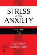 Stress And Anxiety (Clinical and Community Psychology)-ExLibrary
