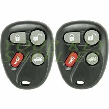 2 New Replacement 4 Button Keyless Remote Key Fob For GM L2C0005T 16263074-99