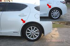 All New FENDER FLARE FOR Lexus CT200h CT 200H HATCHBACK 2011-2016 PVC