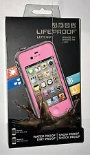LifeProof Fre Waterproof & Shockproof Case for iPhone 4 & iPhone 4S - Pink/Gray