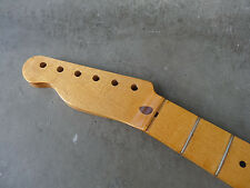 Aged Relic Maple Nitro Finish Guitar Neck for Telecaster Fender Tele Lefty