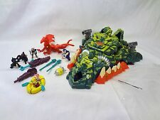 Mighty Max Storms Dragon Island 100% Complete Set Playset Bluebird Toys Works