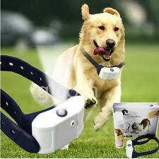 Stop Barking Rechargeable Citronella Dog Collar Anti No Bark Train Mist Spray