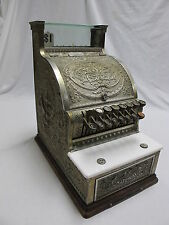 Nickel Plated Brass National Cash Register 313 Candy Barber General Store Shop