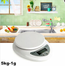 5kg 5000g X 1g Digital LCD Kitchen Scale Diet Food Compact  Weight Balance SU6