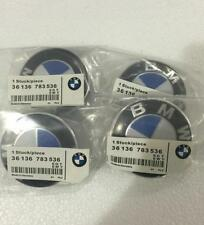 FOR BMW Genuine Emblem Logo Badge Hub Wheel Rim Center Cap 68mm Set of 4 grey