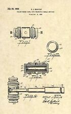 Official Judge Gavel US Patent Art Print- Attorney Law Paralegal Antique 254