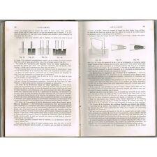 TRAITÉ de PHYSIQUE et  MÉTÉOROLOGIQUE par A GANOT Chonoscope pour Électricité 18