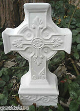 MOLD concrete Cross  free standing statue plastic  plaster casting mould