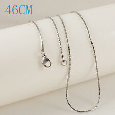 "Snap-It Stainless Steel 18"" Chain For Snap It Pendants"