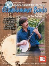 Learn to Play Everything Clawhammer Banjo EASY Beginner Music Book Online Audio