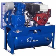 Quincy 13-HP 30-Gallon Two-Stage Truck Mount Air Compressor w/ Honda Engine