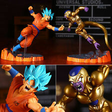 2pcs Dragon Ball Z Goku & Frieza Japanese Anime PVC Figure Figurine New No Box