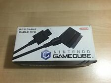 RARE Cable Video RGB NINTENDO OFICIAL - Game Cube - Gamecube - Envio Combinable
