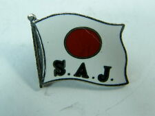 Vecchia spilla S.A.J. Japan Ski sci Team spilletta pin