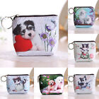Cat Dog Purse Mini Key Coin Money Bag Zip Wallet Pouch Pocket Makeup Handbag New