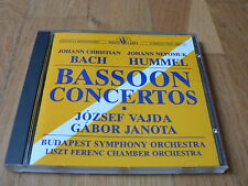 Vajda, Janota - Bach & Hummell : Bassoon Concertos - CD White Label Sanyo Japan