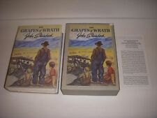 1967 THE GRAPES OF WRATH Vintage FIRST EDITION Nice LIBRARY BOOK John Steinbeck