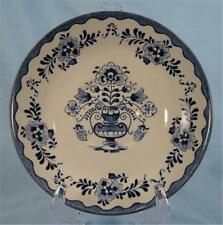 Vintage Holland Saucer Johnson Brothers Blue & White Transferware Flowers (O)