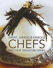 GREAT GRAND AND FAMOUS CHEFS & Their Signature Dishes by Fritz Gubler Christmas
