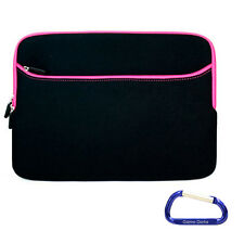 "Black Pink Carrying Sleeve Case Cover for Apple MacBook Pro 13"" Retina Display"