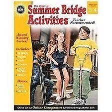 Summer Bridge Activities, Grades 3 - 4 (2013, Paperback) NEW