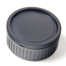 Camera Body cover and Rear Lens Cap for Leica M Mount DSLR YG