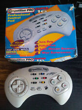 SNES Competition Pro Turbo Controller Pad Boxed HONEY BEE