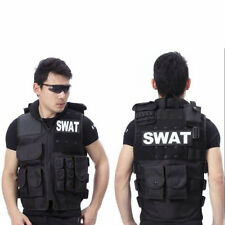 Men's SWAT Airsoft Tactical Vests Hunting Combat Vest With Removable SWAT