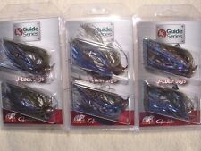 3 PACKS Jewel Guide Series J-Lock 1/2 oz Multi BASS JIG Gamakatsu Milfoil Craw