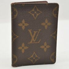 Auth Louis Vuitton Monogram Porto cult Pass Vertical Card Case M66541 #S2753 E