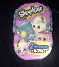 New-SEALED! SHOPKINS~2017 EASTER SURPRISE 2 Blind Bags in a Picnic Basket