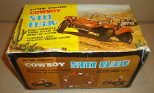 BATTERY OPERATED COWBOY SAND BUGGY HONG KONG TOY CENTRE LIMITED ANNI '70/'80