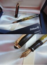 PELIKAN 400 GUNTHER WAGNER PENNA STILOGRAFICA ORO 14C+GAR Gold Fountain pen +BOX