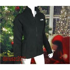 THE NORTH FACE WOMEN'S SIZE XL FULL ZIP 200 FLEECE  BLACK WINTER FALL  JACKET