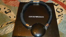 NIB with tag EMPORIO ARMANY by GEORGIO ARMANY rare designer necklace.