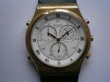 Gents wristwatch ACCURIST CHRONOGRAPH watch working need service MIYOTA 3S31