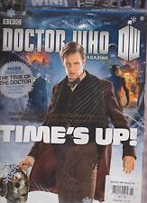 DOCTOR WHO MAGAZINE #468 2014, SEALED W/ MASSIVE DOUBLE-SIDED POSTER!.