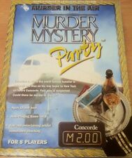 Murder In The Air (Concorde) Murder Mystery Party Game for 8 Players